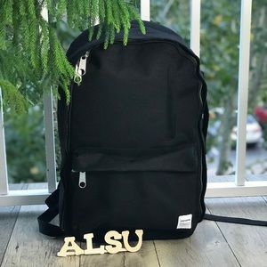8545f04ee25 NWT Essential Backpack G Canvas Black Unisex AUTHE
